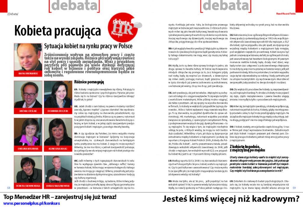 Debata Personel Plus 1 str
